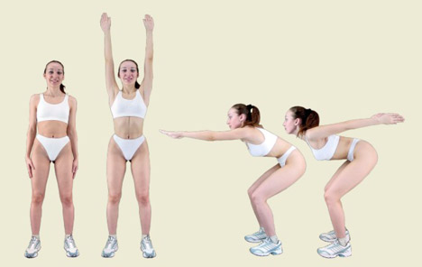 Calanetics Muscle Warming Exercises
