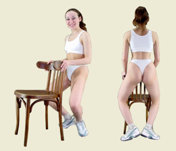 Callanetic Exercises for the legs